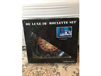 Roulette set for sale good condition