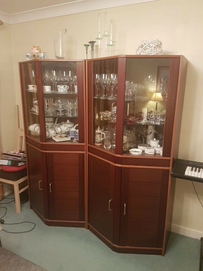 Dining Living Room Modular Display Cabinets