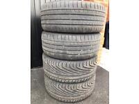 4 x 245/45 R18 Tyres