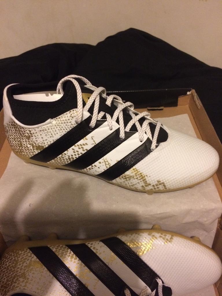 Adidas ace 16.3 primemesh FG/AG football boots uk men's size 11