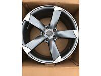 """Audi 19"""" rotar alloy wheels"""