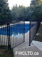 fences, gates, railings, posts,  pool fence, driveway gates
