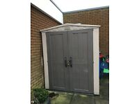 Keter 6 x 6 plastic shed