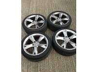 19 audi alloy wheels and tyres