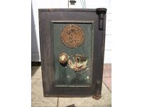 """Antique Cyrus Price & Co. Fire Resisting Safe. Approx 26"""" High x 18"""" Wide x 16"""" Deep. Very Heavy."""