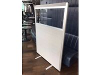 5 X OFFICE PARTITIONS / OFFICE DIVIDERS - JUBILEE PREMIUM ACOUSTIC VISION SCREENS