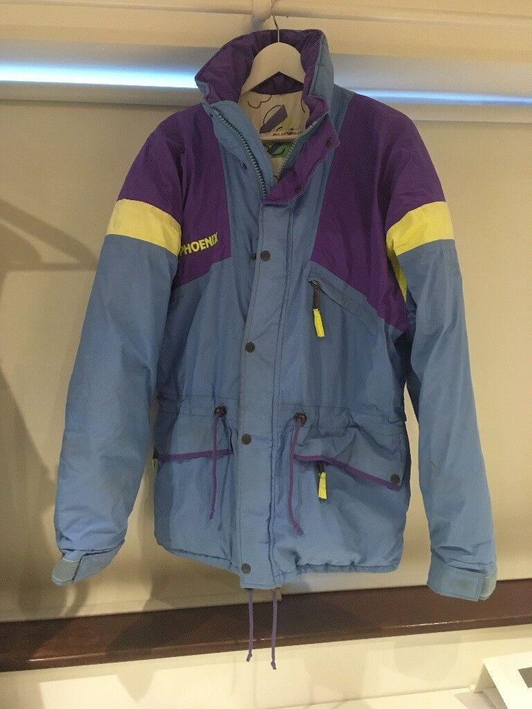 15a2bdd273 Mens Vintage Phoenix Goretex Ski Jacket Coat Size L 90s