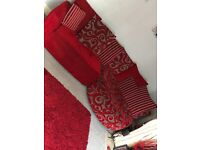 Dfs good condition sofa and chair