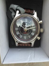 Large wrist watch clock