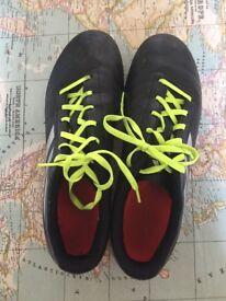 Adidas football boots size 10