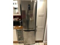 LG GBB60PZDZS 60/40 Frost Free Fridge Freezer - Steel - A++ Rated