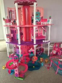 Barbie dream house and camper van etc SOLD