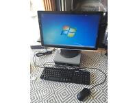 Dell Desktop PC & Monitor