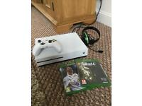 Xbox One S 500gb Console, Games and Headset. Perfect condition.