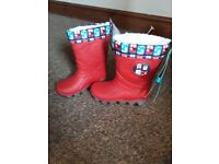 Childs light up wellies