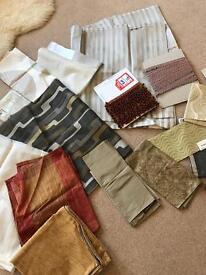 Large bundle designer fabrics voiles trim beads beading - crafts etc NEW