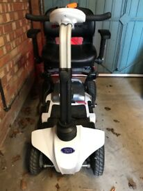 mobility scooter .TGA. Maximo S20TEW1660007 white with lithium battery