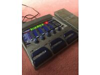 DIGITECH RP300A multi effects footswith pedalboard