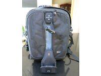 Lowepro vertex 100 AW camera bag / backpack