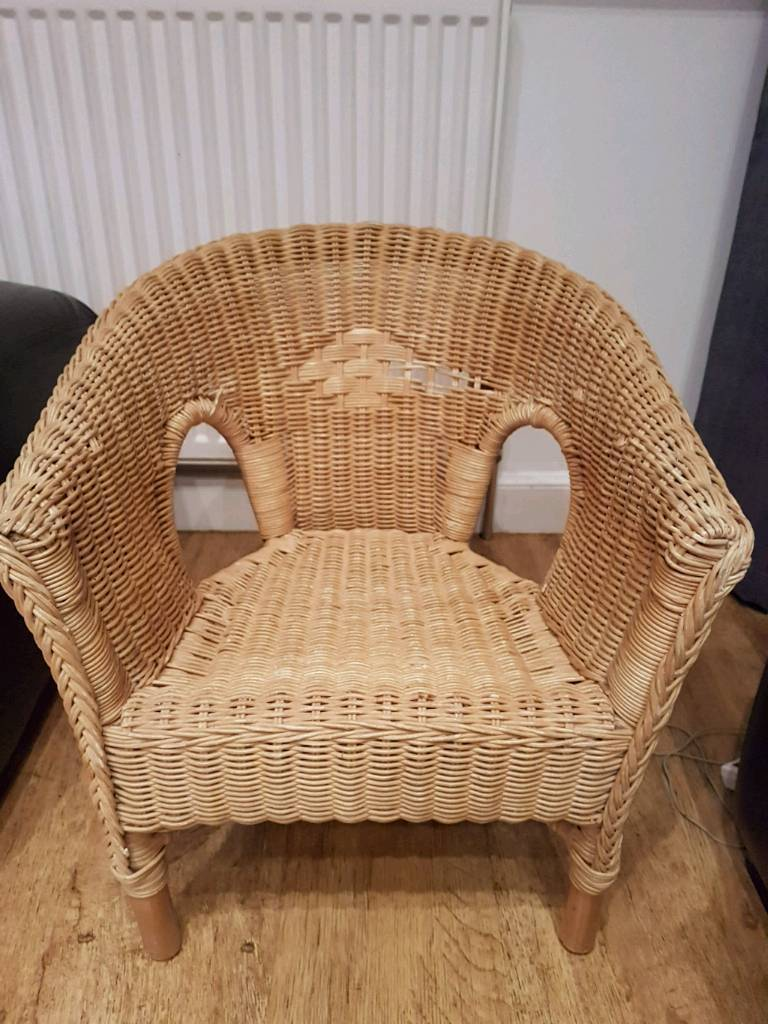 Child\'s wicker chair | in Hull, East Yorkshire | Gumtree