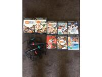 Selection of PlayStation ps2 stuff mics etc eye toy singstar