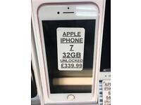 IPHONE 7 32GB UNLOCKED PICK UP NOW