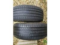 Pirelli tyres run flat, 245 50 18