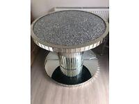 Big heavey glass table