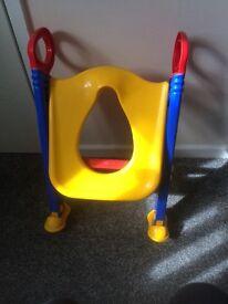 Training toilet seat