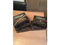 Titleist pro v1 and pro v1x balls brand new boxed