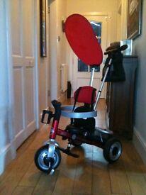 Avigo Alu Lite Trike - red excellent condition RRP £99