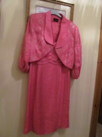 New without tags Mother of the Bride/Wedding Outfit Dress and Jacket Size 14