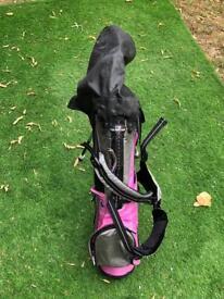 Girls starter golf set