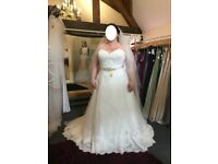 New and Unaltered Wedding Dress by Daisy B Nell