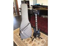 Impeccable Yamaha BB2005 5-string bass neck-through monorail active black with gig bag