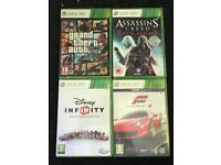 4x Xbox games