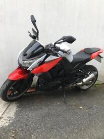 2012 Kawasaki z1000 daf