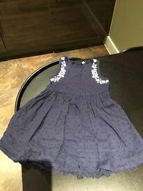 Girls purple dress 3-4 yrs