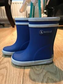 Aigle Toddler Wellies