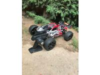 LIKE NEW HPI TROPHY 4.6 RC NITRO CAR