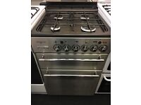 LEISURE 55CM ALL GAS COOKER IN STAINLESS STEELM