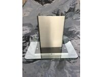 Glass and Stainless Steel Chimney Cooker Hood