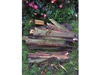 More... last of our FREE wood , mini sleepers, feathered fence slats