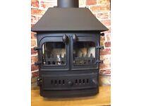 Villager log burner multi-fuel stove