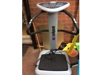 Vibrating plate excercise machine/ fitness massager