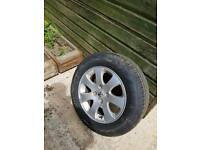 Peugeot 307 alloy wheels x 4. 195 65 15