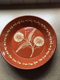 Portuguese Pottery Platter