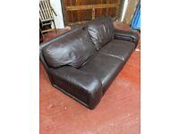 x3/4 Seater Leather Sofa