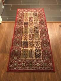IKEA Rug - Valby Ruta / red Persian runner pattern 80cm x 180cm