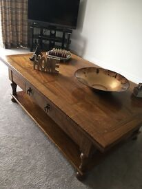Barker and Stonehouse large wooden coffee table